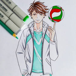 Oikawa  by matyosandon