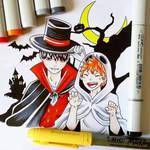 Hinata and Kageyama (Halloween)