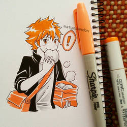 Shouyou Hinata  by matyosandon