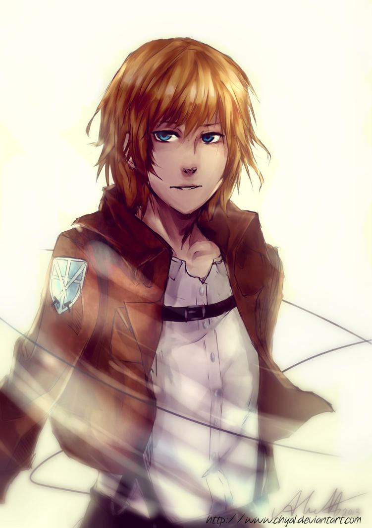 Armin Arlert by Chyal