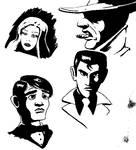 Noir Sketches 2