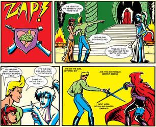 Zap! Fan Strip by vonfolger