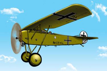 Fokker D 8 by vonfolger