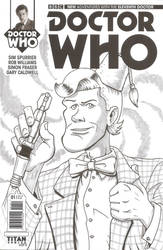 Doctor Who sketch cover - 11