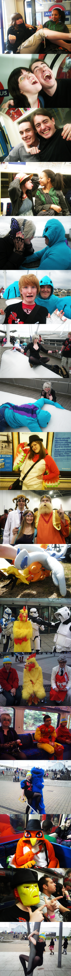 a few funny expo pics by inasaku