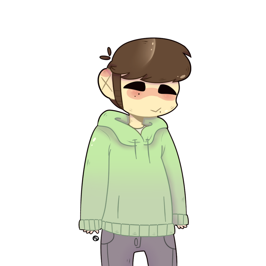 [EDDSWORLD] Edd [SPEEDPAINT] by IrritatedRaven