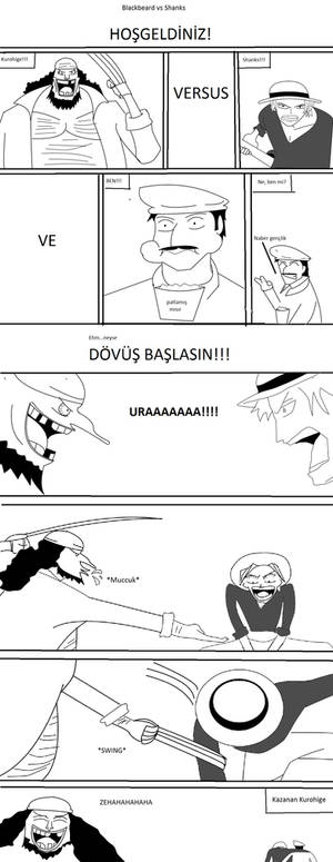 Shanks vs kurohige