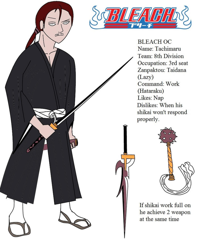 Bleach Oc Arashi By Sickeld160 On Deviantart: Bleach OC By Darkspeed54 On DeviantArt