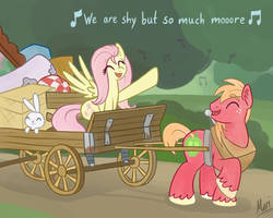 We are shy but so much more by Marindashy