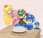 Megaman party