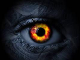 Fiery Eye by DuskTG