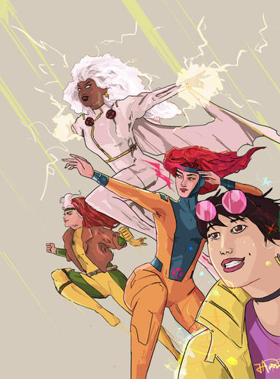 X-Men by thewipeout