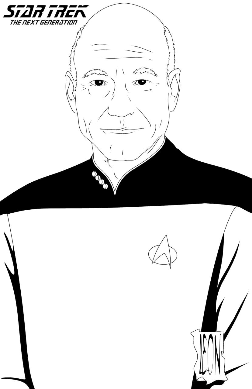 Ungewöhnlich Star Trek Nächste Generation Malvorlagen Galerie ...