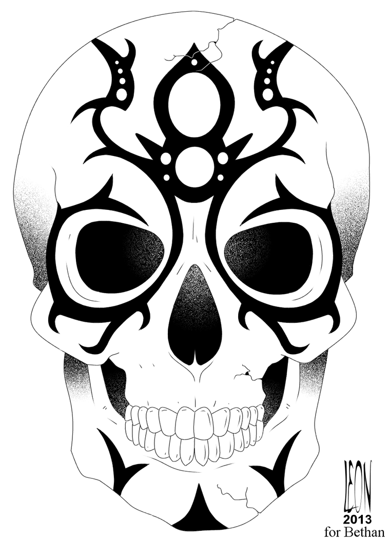 Bethan's Skull by DarkFurianX