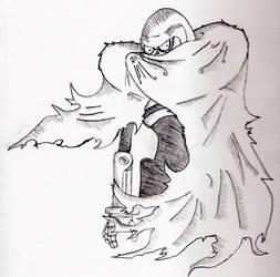 Skullman Cloaked by Shinkuro