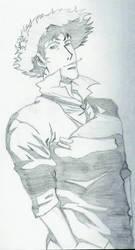 Spike Spiegel by Shinkuro