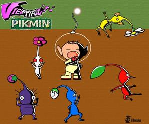 Viewtiful Pikmin by Shinkuro