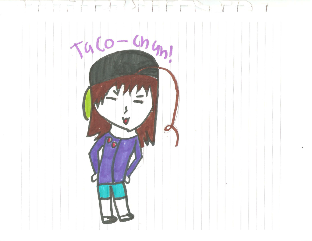Taco-Chan! by XEPICTACOSx