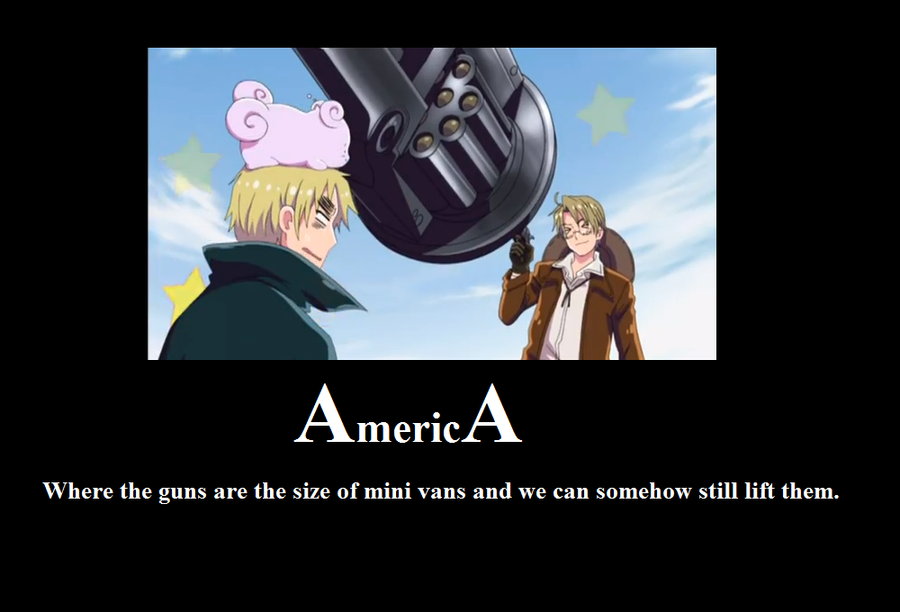 America Motivational #3 by XEPICTACOSx