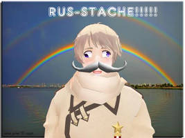 RUS-STACHE! by XEPICTACOSx