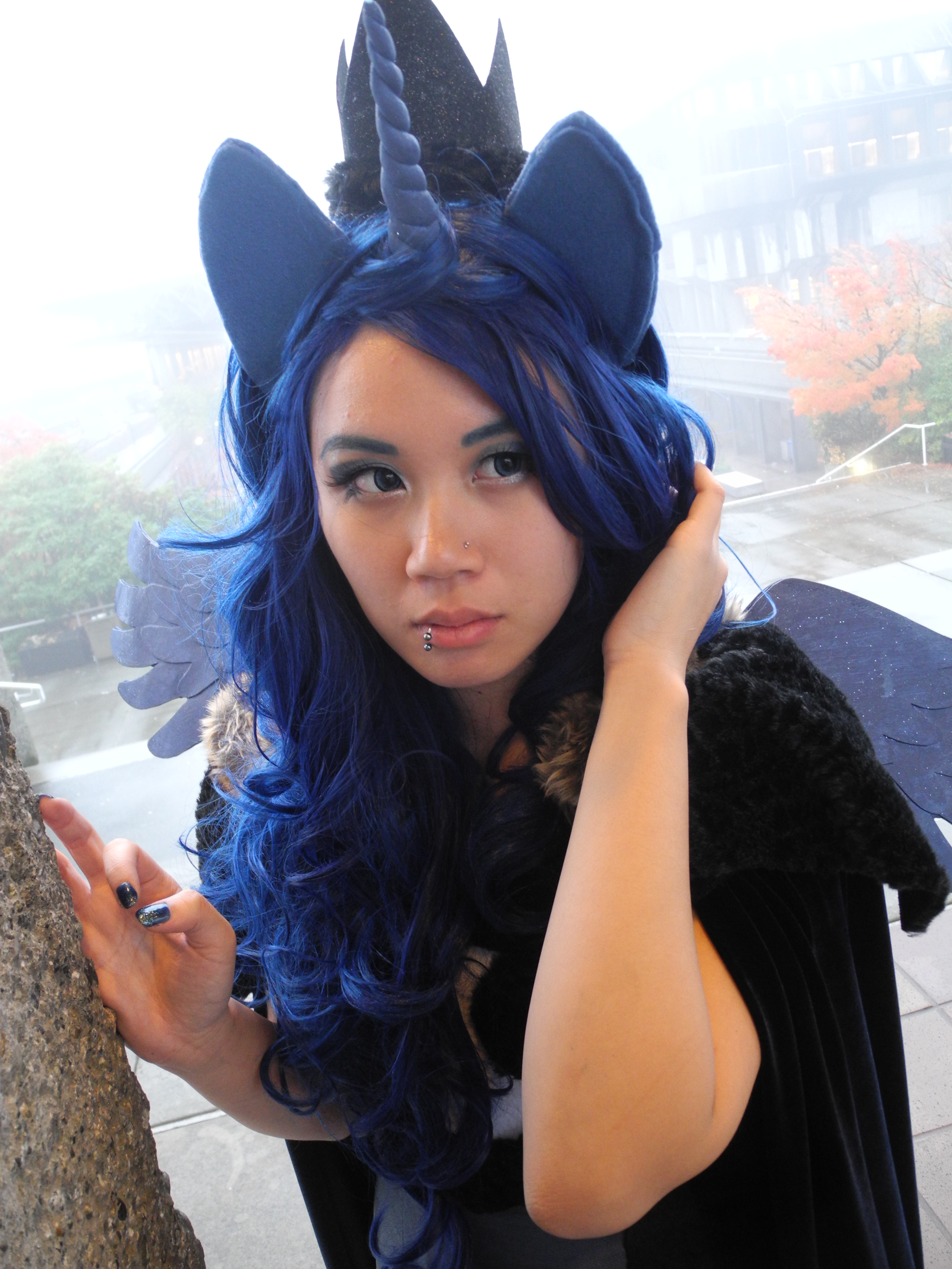 Princess Luna Cosplay Princess Luna Close Up By Highwindd Dnhd