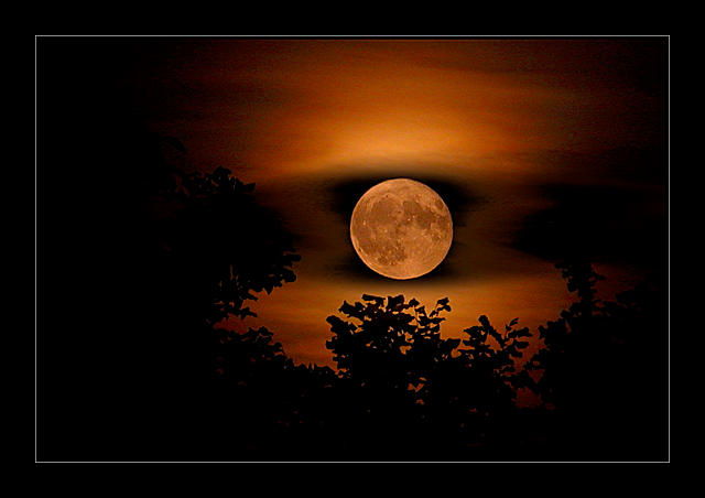 full moon by Hartmut-Lerch