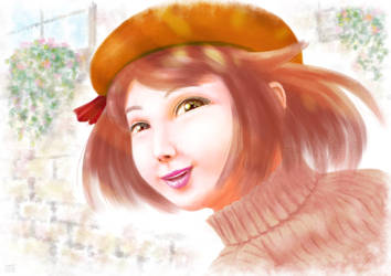 Emi Portrait by Hyakuya