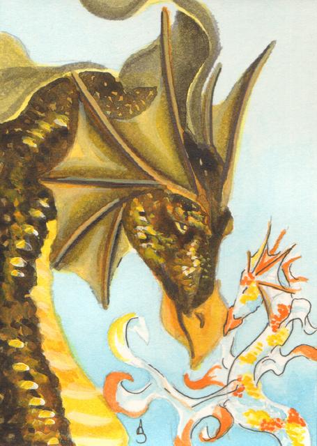 Sea Dragon Love by Aldistar