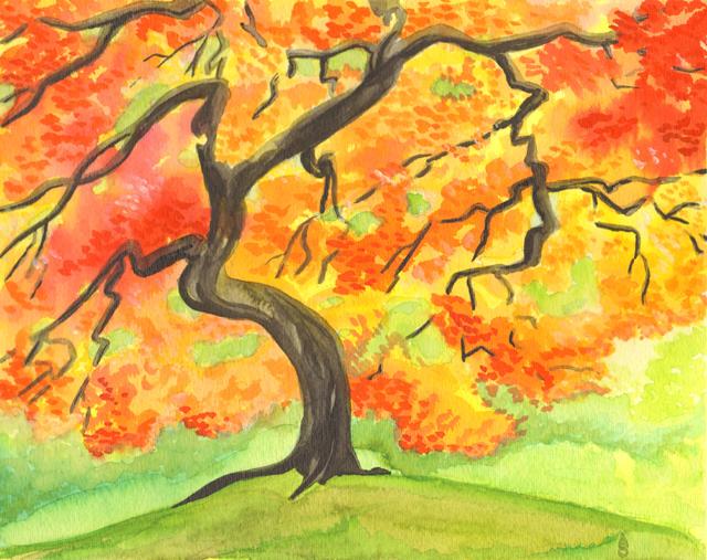 Fall Foliage by Aldistar