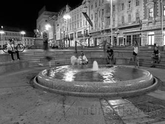 Summer night Zagreb 2016 by rafinerija