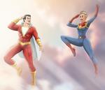 Captains Marvel by NikoAlecsovich