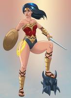 Wonder Woman by NikoAlecsovich