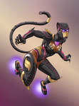 Black Panther Cyber Initiative by NikoAlecsovich