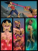 Wonder Woman Cheetah by NikoAlecsovich
