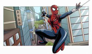 Spider-Girl panel