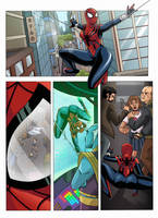 Spider-Girl Page by NikoAlecsovich