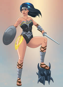 Wonder Woman Recolor