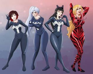RWBY Symbiote suits