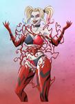 Harley Quinn Carnage - SFW by NikoAlecsovich