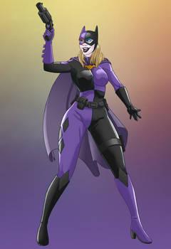 Bat girl Harley Quinn - Recolor