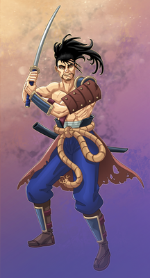 Hiro, the Samurai