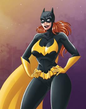 Batgirl redesign - recolor