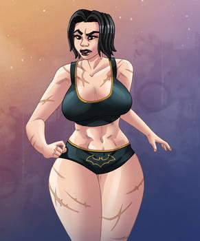 Cassandra Cain - after training