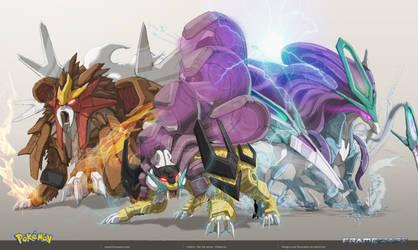 Hybrid Legendary Beasts