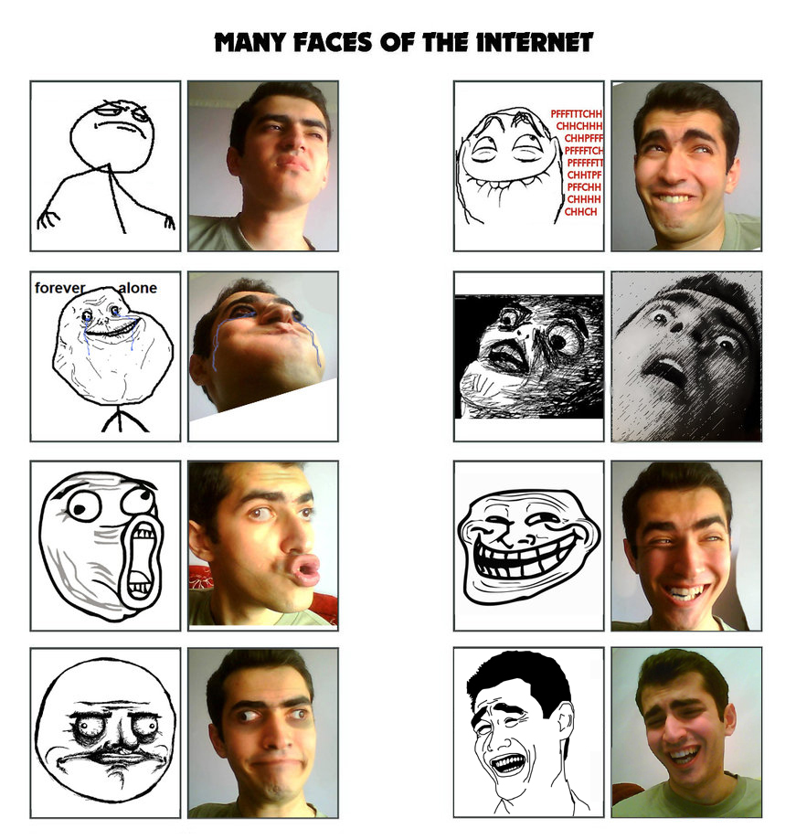 how to find a face on the internet
