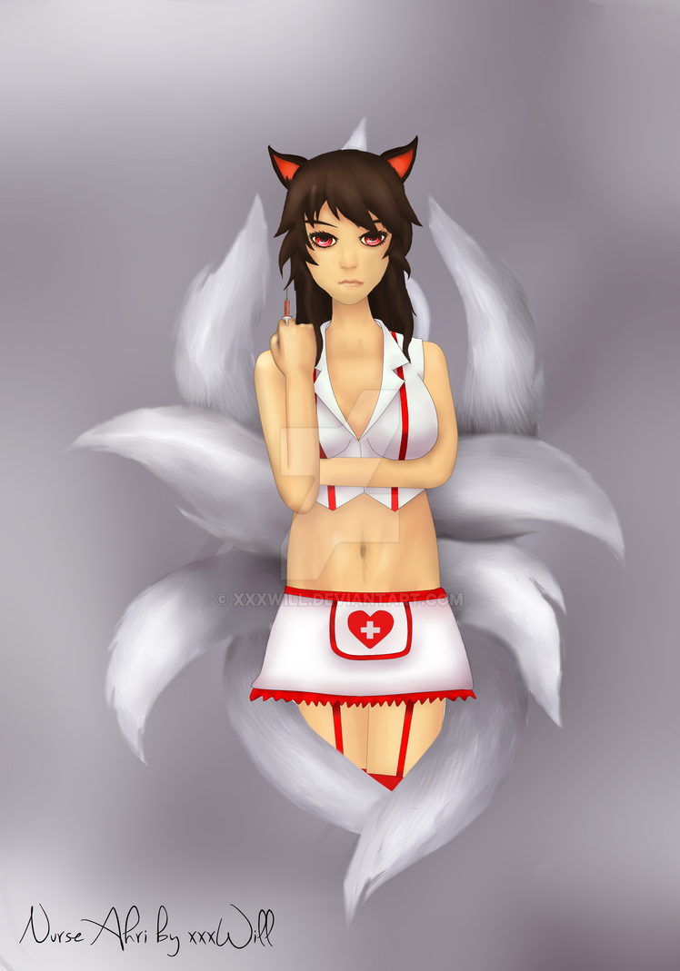 Nurse Ahri by xxxWill