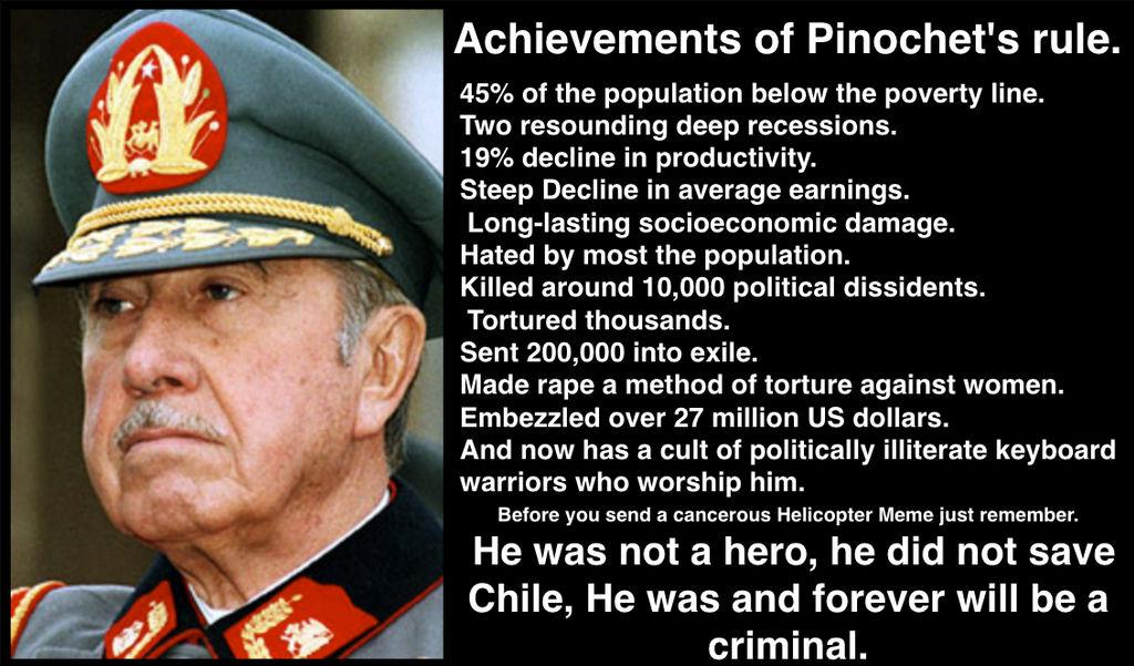 Pinochet's Legacy.