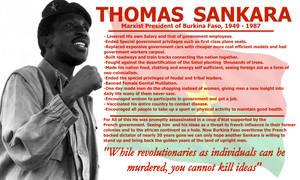 Thomas Sankara, Info.