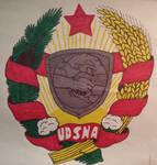 United Democratic States of America Coat of Arms.