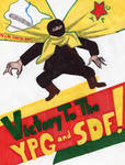 Victory to the YPG and SDF! by RedAmerican1945